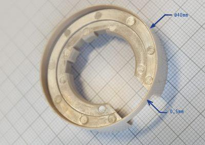 Porte-capteurs en PEEK pour moteur brushless